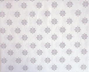 Tahari Home Kids 3 Piece Cotton Twin Sheet Set Small Geometric Medallions Pastel Pink Light Purple