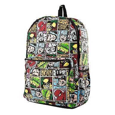 Marvel Comic Super Hero Backpack Shoulder Bag Schoolbag 9c515ec0cdffe