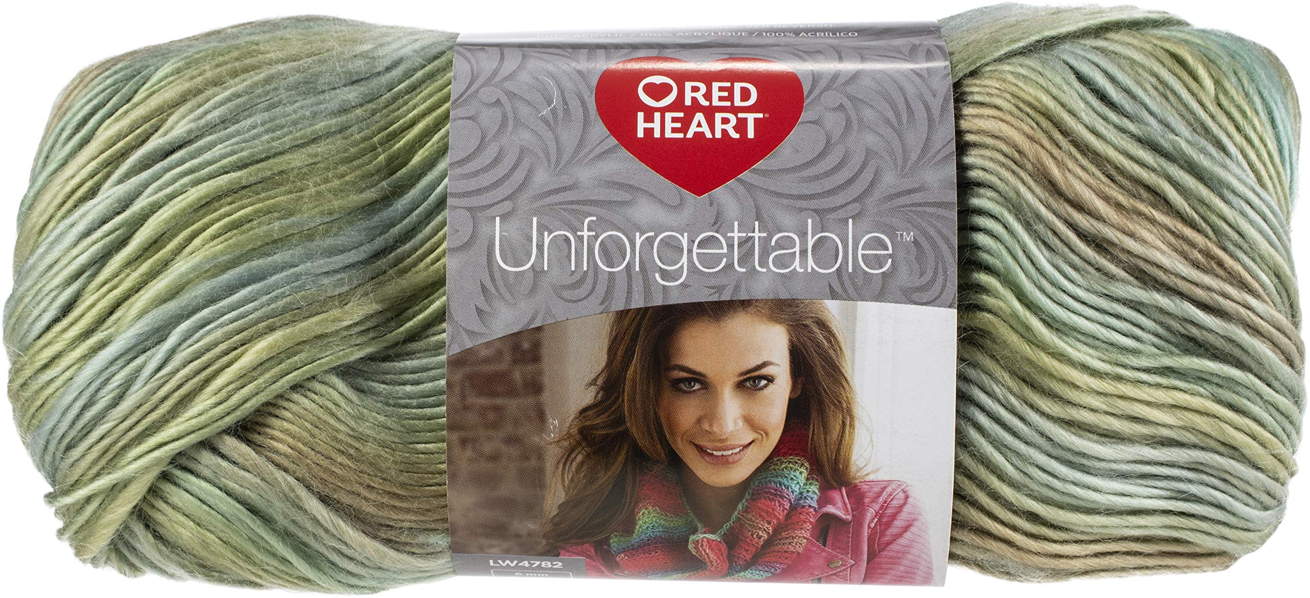 Red Heart 99428 Boutique Unforgettable Yarn 12/Pk-Meadow, Pack by Red Heart (Image #2)