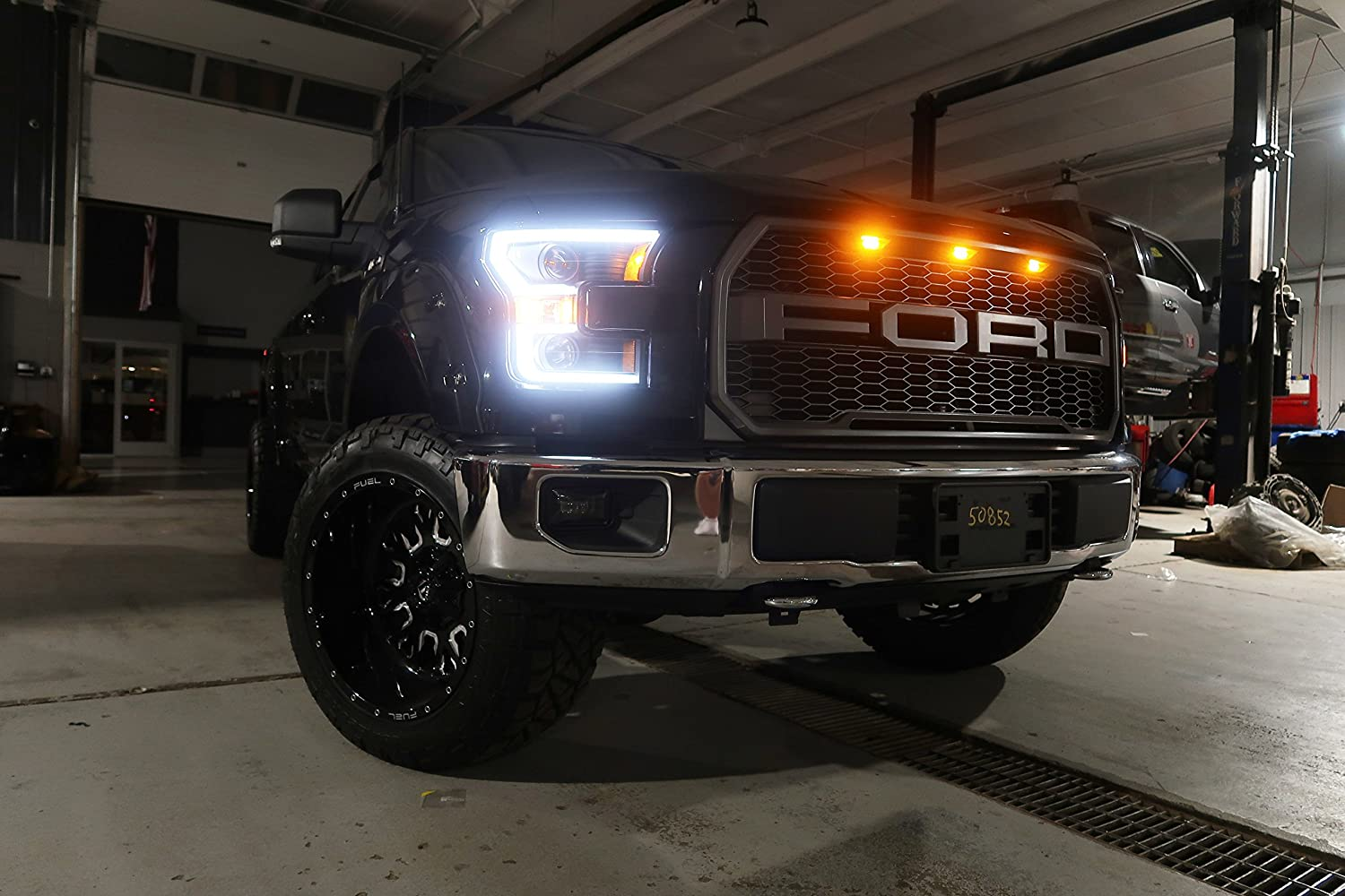 Crystalux Led Projector Fog Lights For 2015 2018 Ford 2008 Toyota Tundra Wiring Harness Cd F150 Automotive