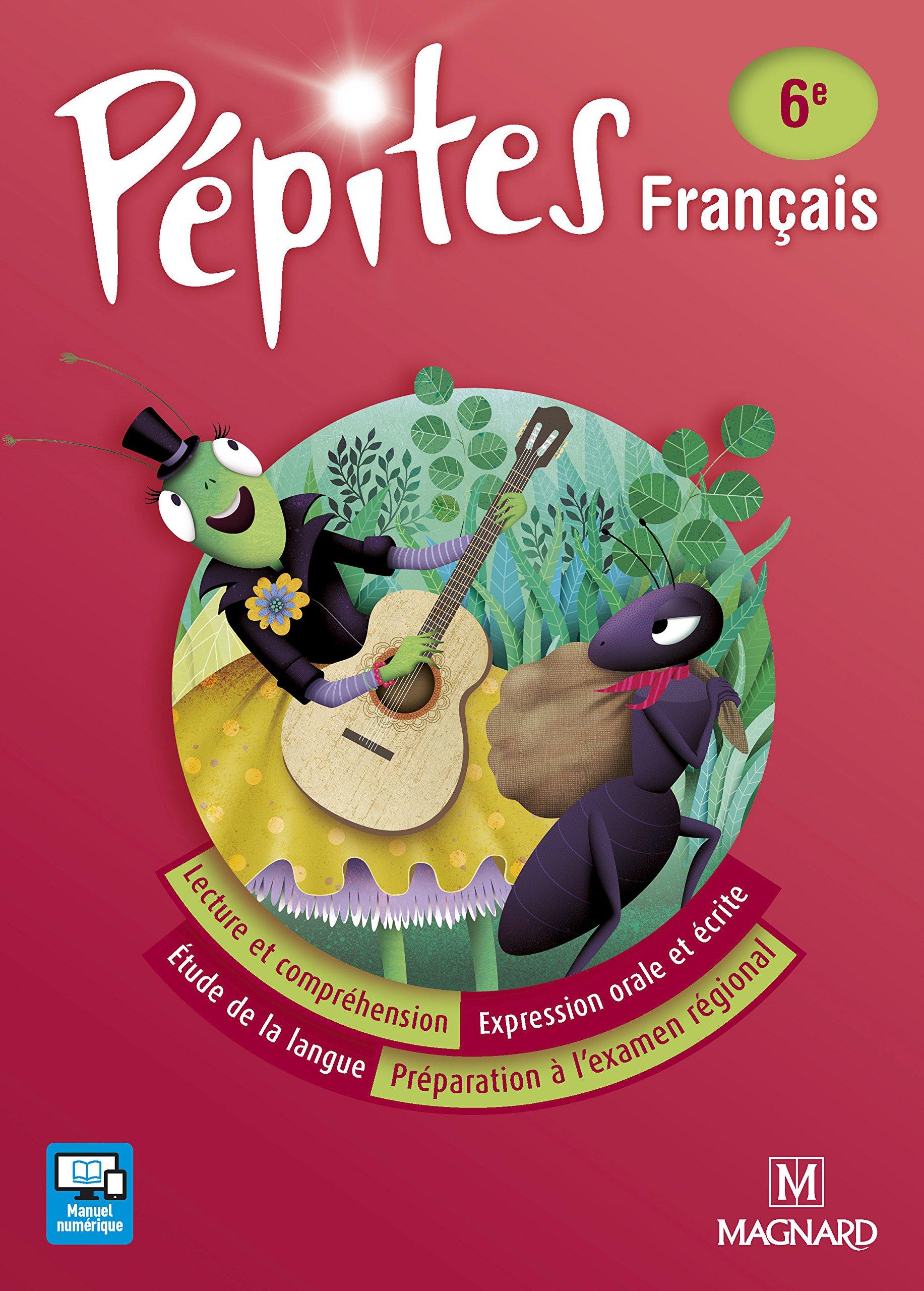 Amazon Fr Francais 6e Pepites Manuel Maroc Collectif