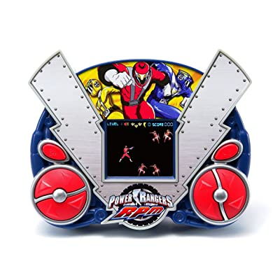Techno Source Disney Power Ranger RPM LCD Handheld Game: Toys & Games