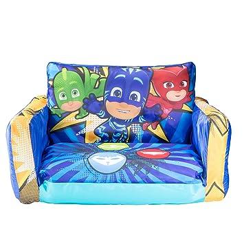 PJ Masks 286PJS - Máscaras hinchables para sofá y Tumbona Infantil (2 en 1)
