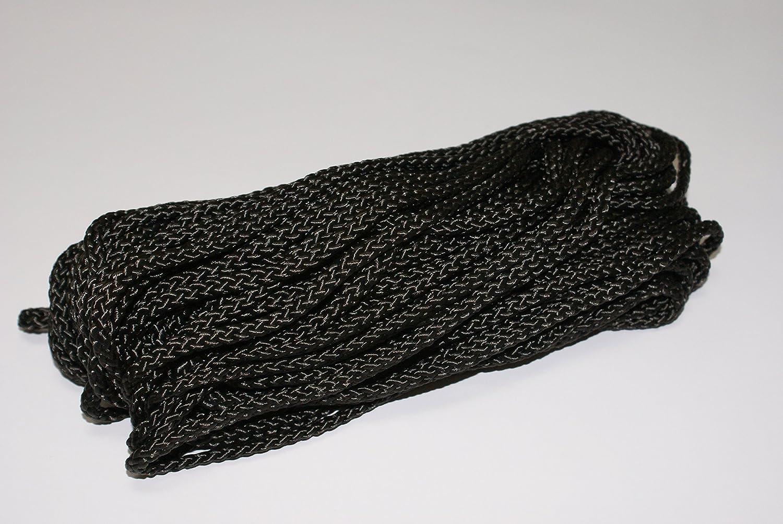 8-er Geflecht schwarz 4 mm Usacord 110540200303 Betelon PPM Seil 20 m