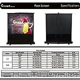 Grand Screens Floor Screen with Fiberglass