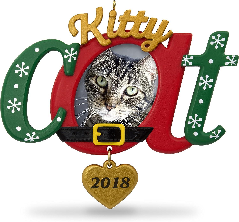 Keepsake Christmas Ornament 2020 Year Dated, Kitty Cat Picture Frame, Photo Frame Amazon.com: Hallmark Keepsake Christmas Ornament 2018 Year Dated