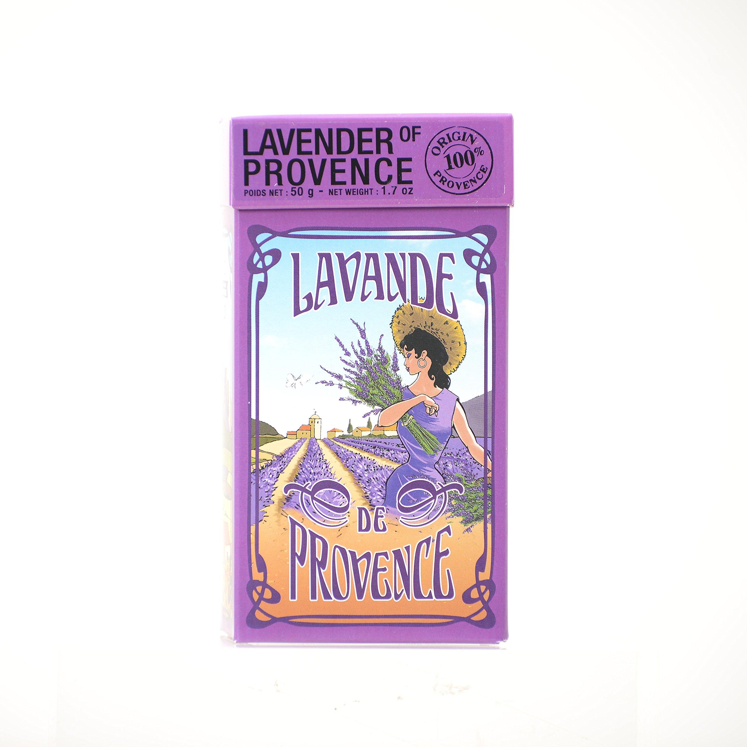 L'Ami Provencal Lavender Flowers in GIft Box - 1.7 oz
