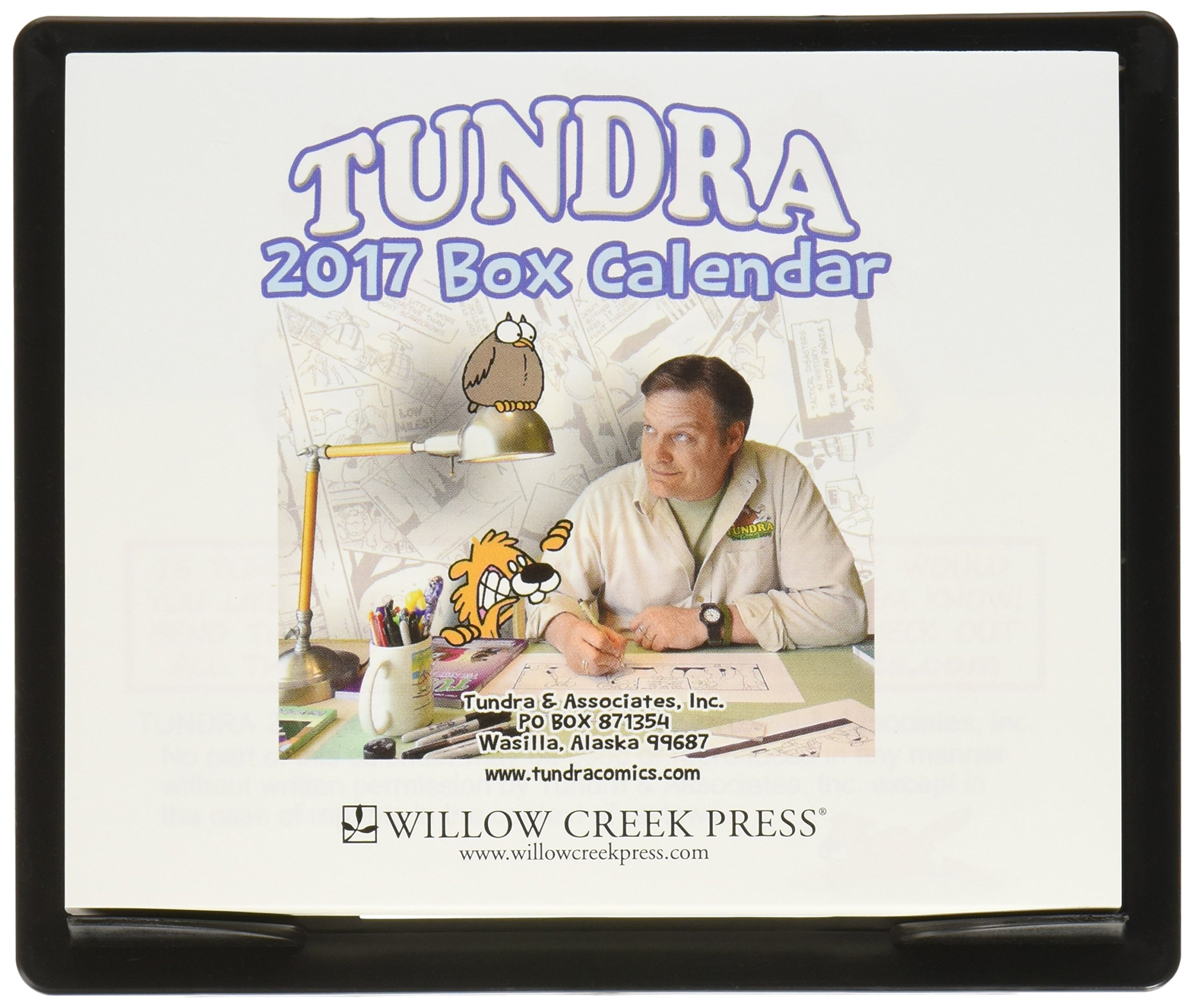 Tundra 2017 Daily Desk Boxed Calendar