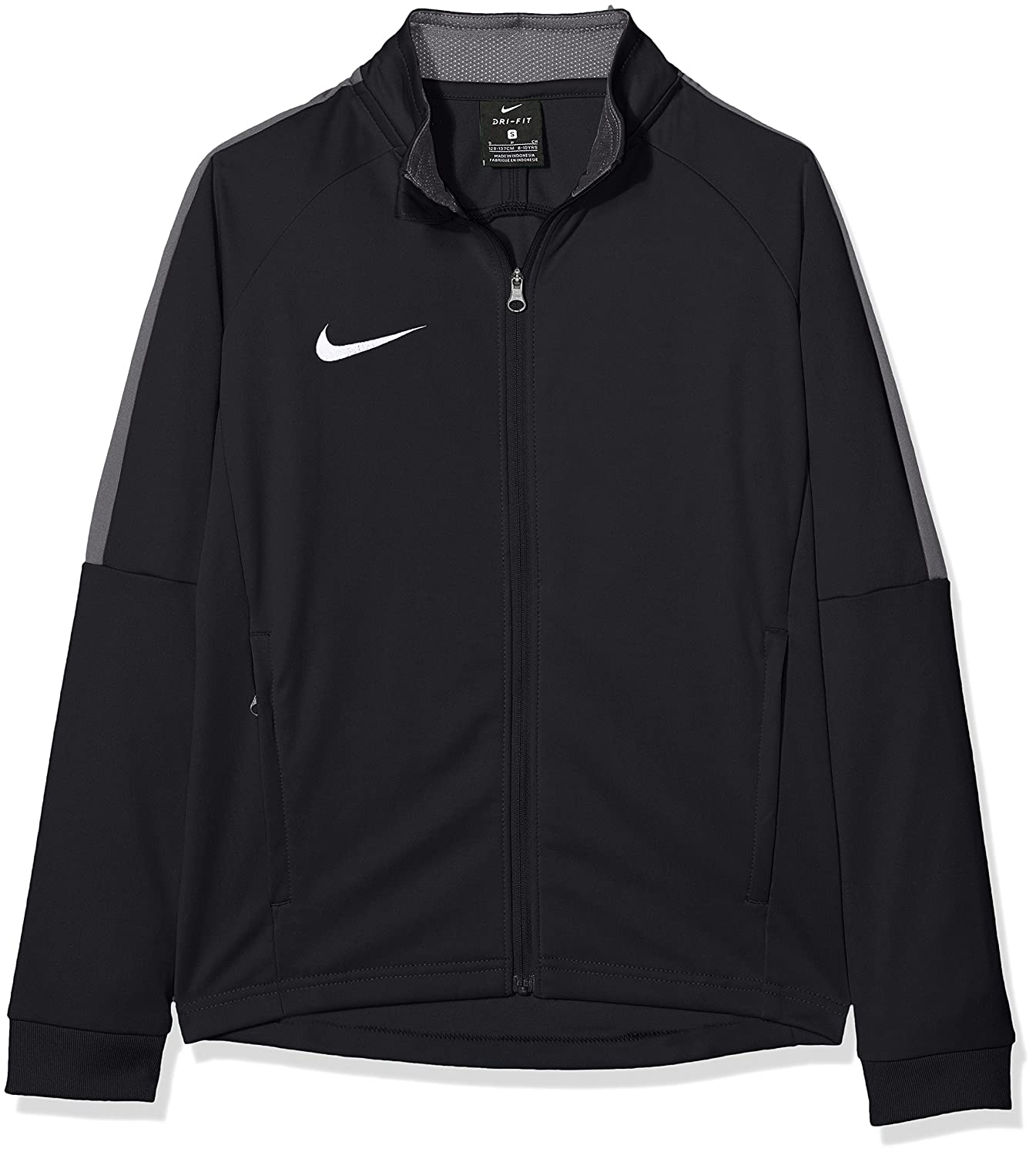 Size Youth Small Black Nike Youth Dry Academy 18 Track Jacket