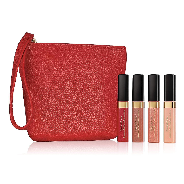 Elizabeth Arden Beautiful Color Mini Luminous Lip Gloss 4 Piece Makeup Gift Set  4 ct