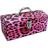 Sainty Art Works 24-033 Art Deco Leopard Tool Box, Pink
