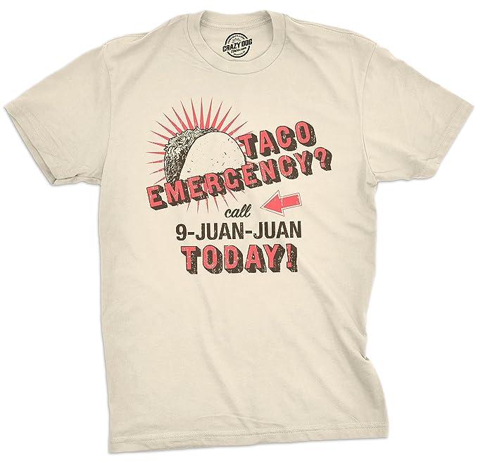 b0a4c741 Mens Call 9 Juan Juan Tshirt Funny Cinco De Mayo Taco Burrito Tee for Guys -