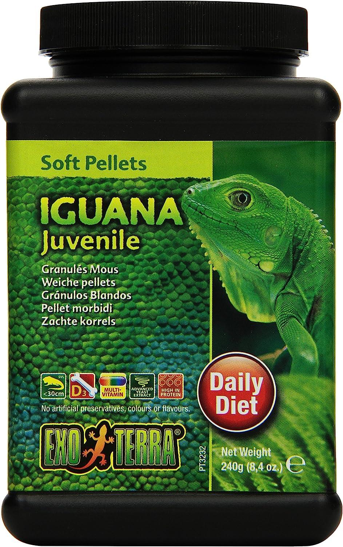 Exo Terra Pellets Iguana Soft Food, Reptile Food
