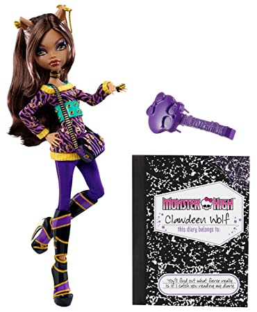 Amazoncom Monster High Clawdeen Wolf Doll Toys  Games