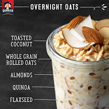 Amazon.com : Quaker Overnight Oats, Toasted Coconut & Almond Crunch on planters cookies, planters roasted pecans, planters dry roasted honey, planters pistachios, planters granola bars, planters sesame sticks, planters holiday collection, planters energy mix, planters nutrition, planters go packs, planters logo, planters crackers, planters nuts, planters pecan pieces, planters cashews, planters raised bed garden, planters sweet and salty, planters flavors, planters heart healthy, planters sunflower kernels,