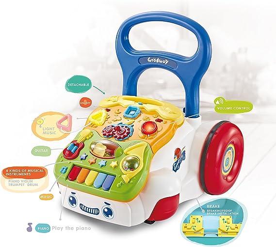 Amazon.com: totcraft sit-to- Soporte Baby Walker: Toys & Games