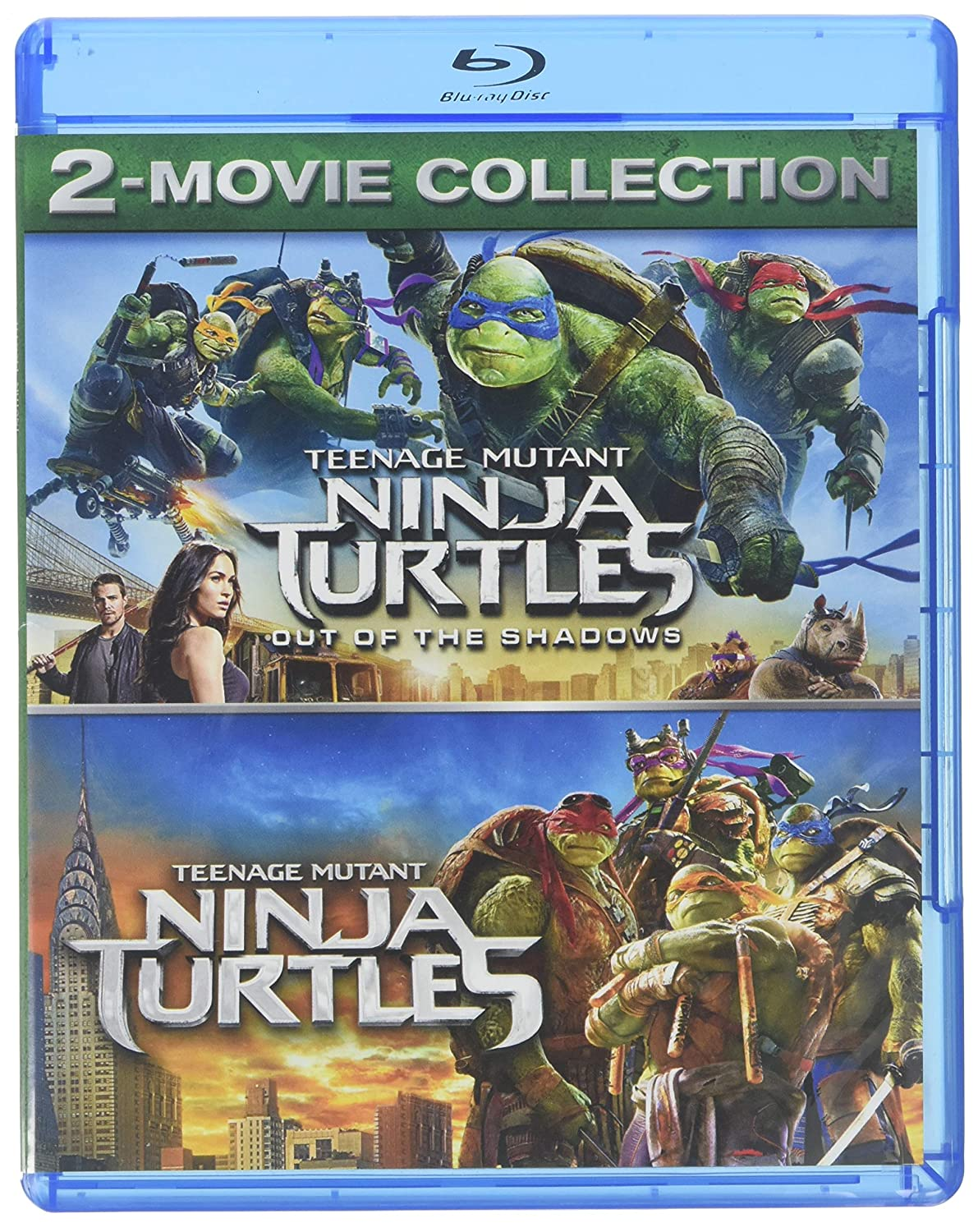 Amazon Com Teenage Mutant Ninja Turtles 2 Movie Collection Blu Ray Movies Tv