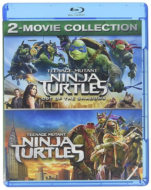 Teenage Mutant Ninja Turtles 2-Movie Collection 2 Blu-Ray ...