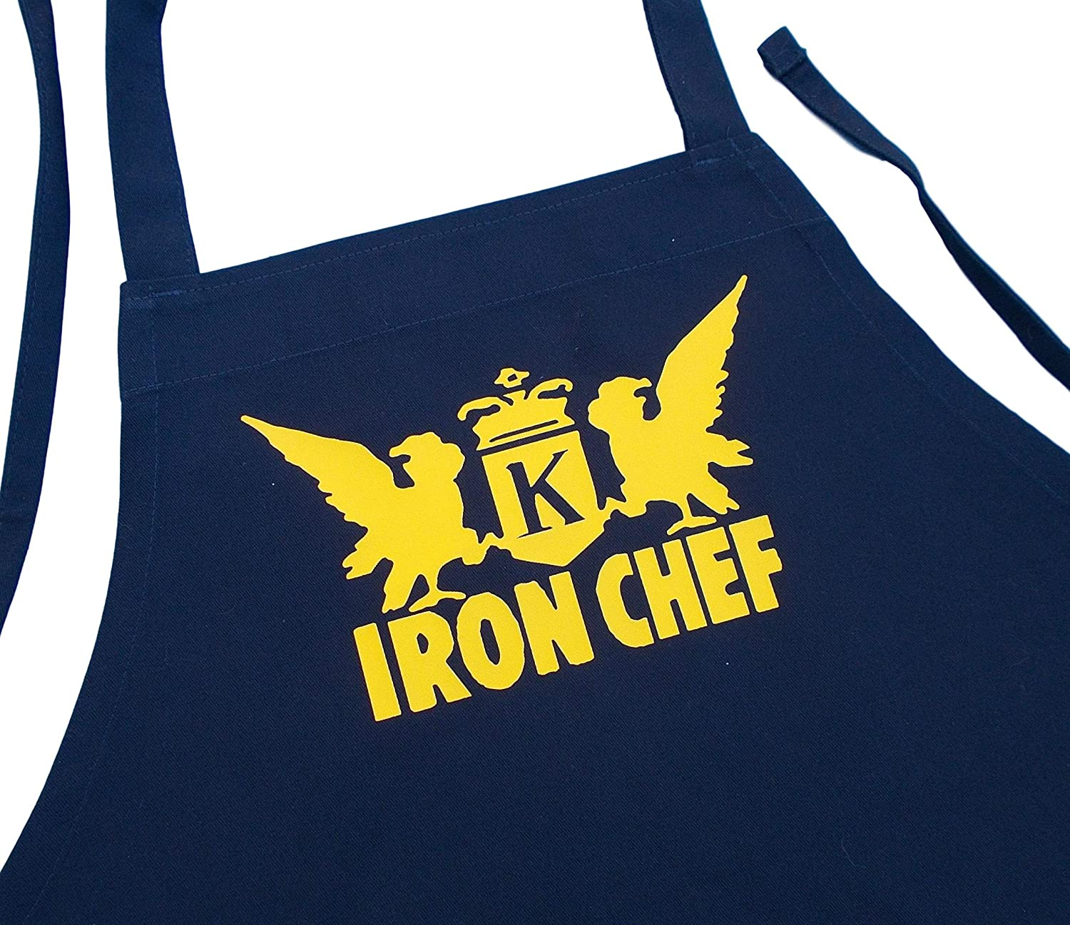 Iron Chef Black Aprons for Food Network Fans, Black, One Size Fits Most