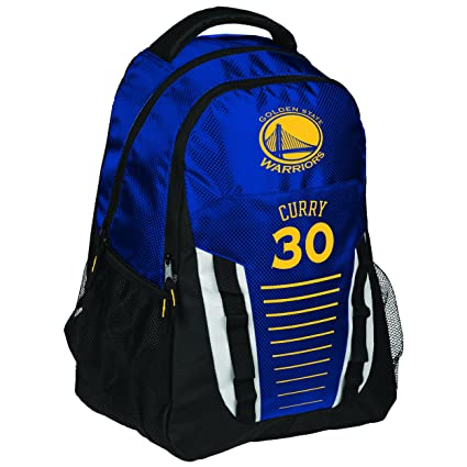688eec7686a7 Amazon.com   FOCO Golden State Warriors Franchise Backpack Gym Bag - Stephen  Curry  30   Sports   Outdoors