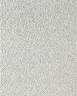 Tapetenmuster weiß  Uni Tapete EDEM 204-40 Dekorative Vinyl-Schaum-Tapete weiß ...