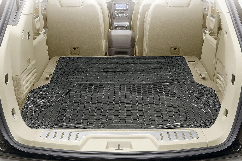 Metermall Elettronico 2 pezzi di luce solare LED supporto della tazza inferiore tappetino pad decorazione dinterni per tutte le auto Blue