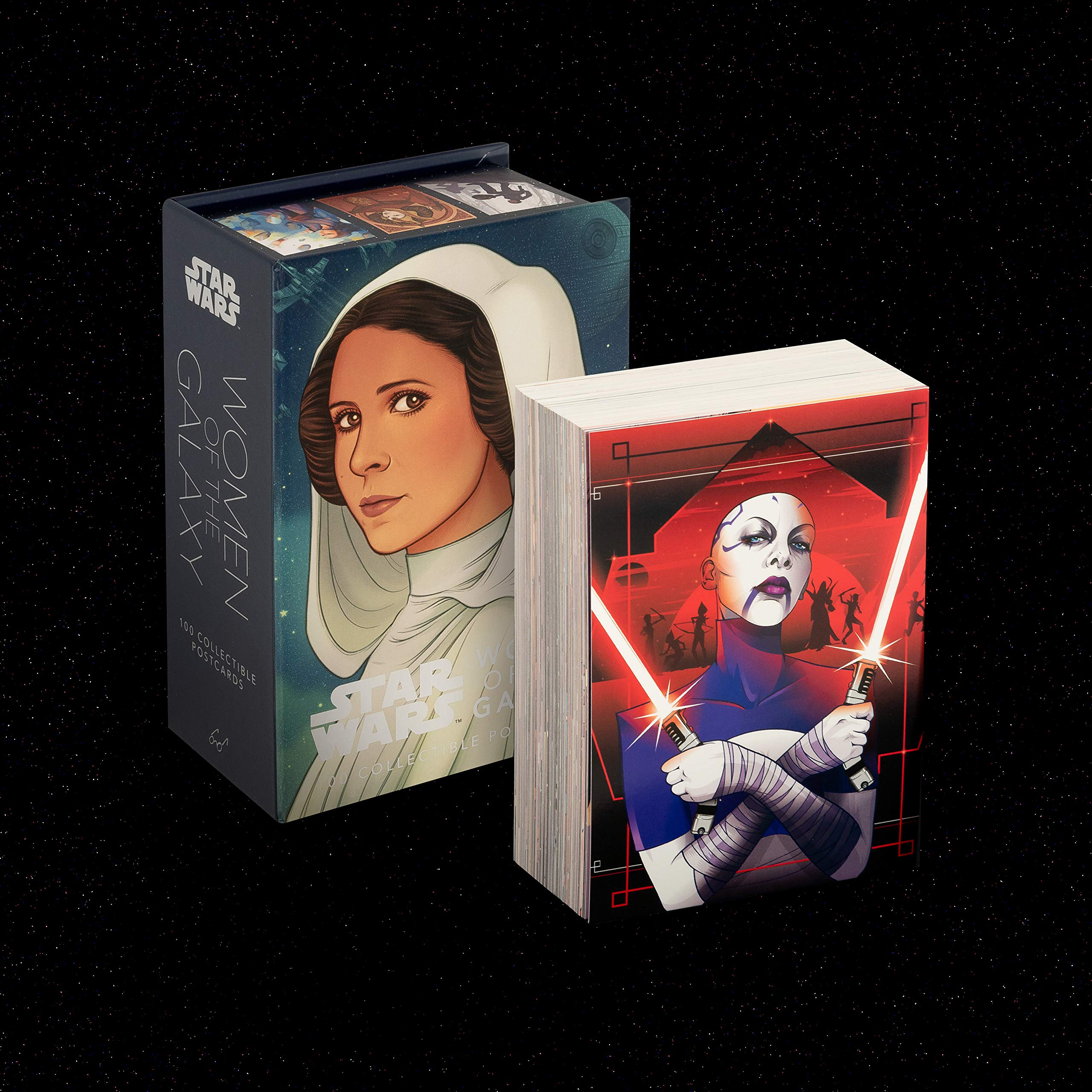 Star Wars: Women of the Galaxy (100 Postcards Card Book)