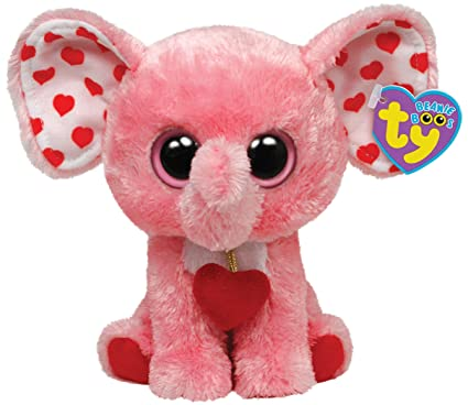 e153952ded9 Image Unavailable. Image not available for. Color  Ty Beanie Boos Tender  Elephant ...