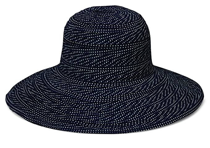 c556ddc17 Wallaroo Hat Company Women's Scrunchie Sun Hat – UPF 50+, Ultra-Light, Wide  Brim, Floppy, Packable
