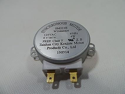Amazon.com: Whirlpool sm221e Microondas synchronus Motor ...