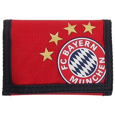 FC Bayern Munich - Cartera/Billetera oficial Modelo Crest hombre caballero Fútbol (Talla Única