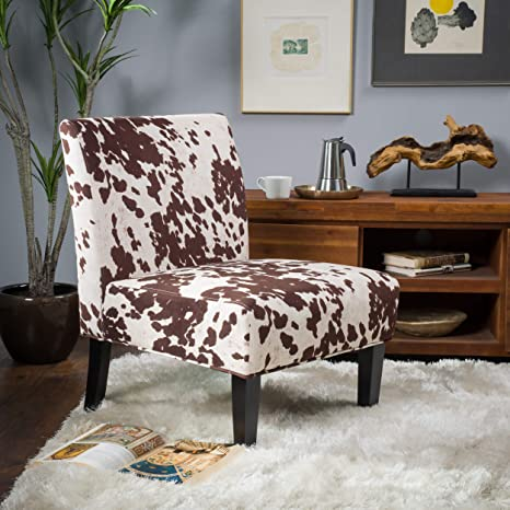 Terrific Christopher Knight Home Kalee Dining Chair Cow Print Squirreltailoven Fun Painted Chair Ideas Images Squirreltailovenorg