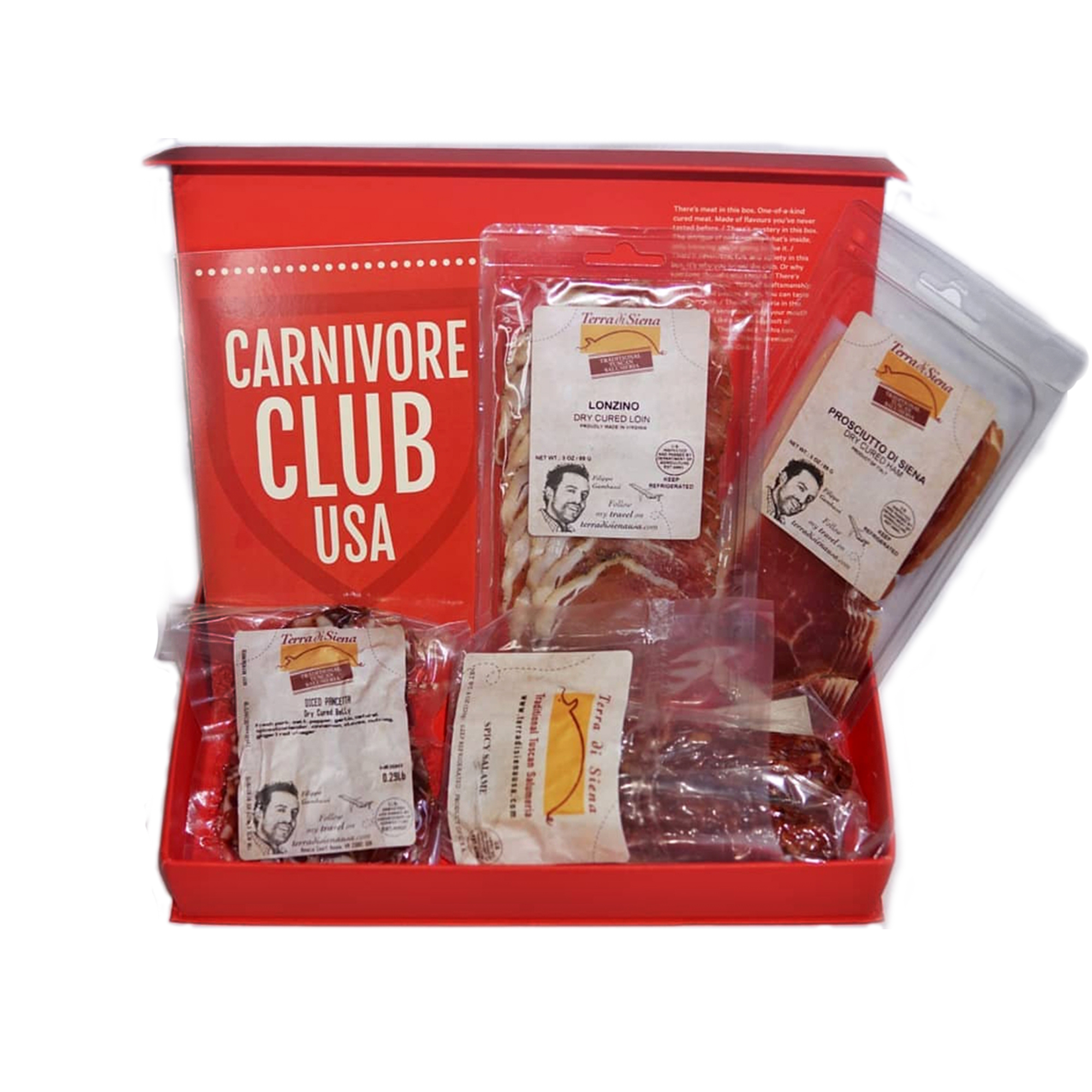 (Carnivore Club - Handcrafted Cured Meats From Award-Winning Artisans Subscription Box: Classic)
