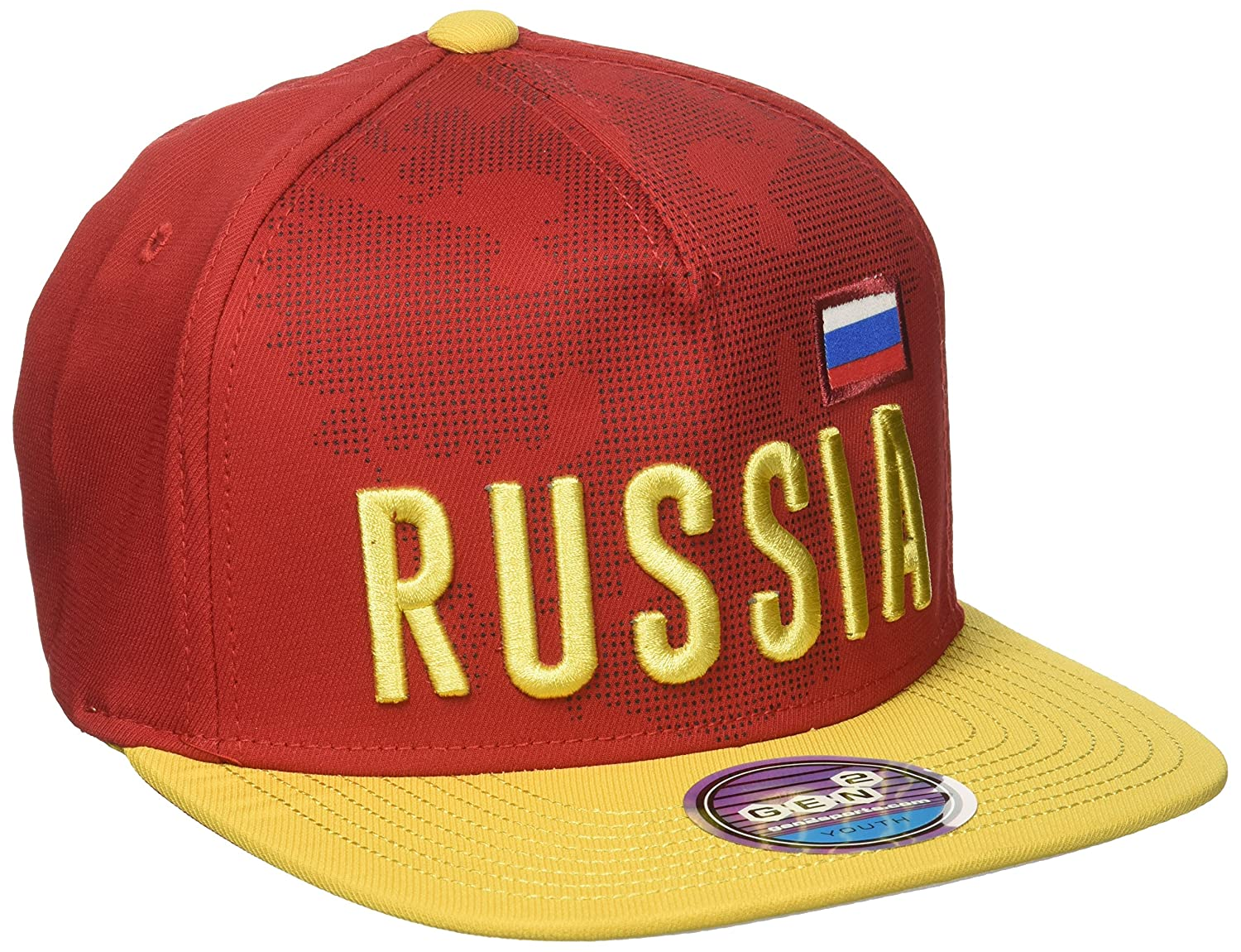 Amazon.com : Outerstuff World Cup Soccer Russia Boys Jersey Hook Flag Snapback with Adjustable Snap Closure, Burgundy, One Size : Sports & Outdoors