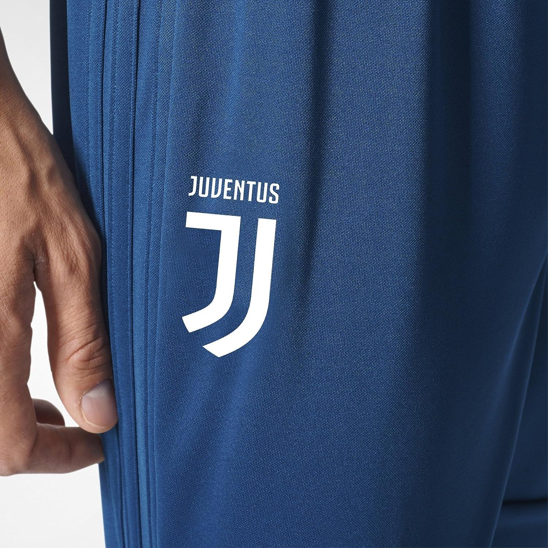 adidas Juve 3//4 Pnt Pantal/ón Pirata-L/ínea Juventus de Tur/ín Hombre
