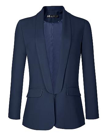 Veste tailleur courte bleu