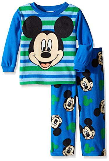 Disney Conjunto de pijama de 2 piezas Mickey Mouse de Little Boys A Friendly