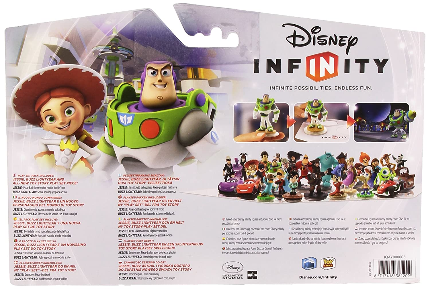 Disney Infinity 1.0 Toy Story World Playset