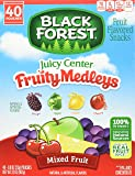Black Forest Medley Juicy Center Fruit Snacks, Mixed Fruit Flavors, 0.8 Ounce Bag, 40 Count
