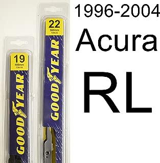 "product image for Acura RL (1996-2004) Wiper Blade Kit - Set Includes 22"" (Driver Side), 19"" (Passenger Side) (2 Blades Total)"