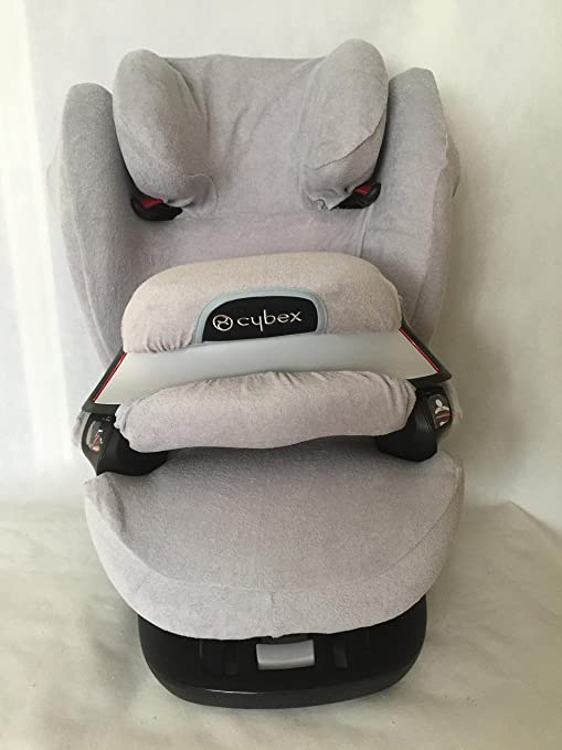Sommerbezug Schonbezug Für Cybex Pallas M Und S M Und S Fix Frottee 100 Baumwolle Hellgrau Baby