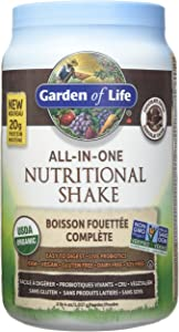GARDEN OF LIFE All in One Raw Chocolate Cocoa Nutritional Shake, 1017 GR