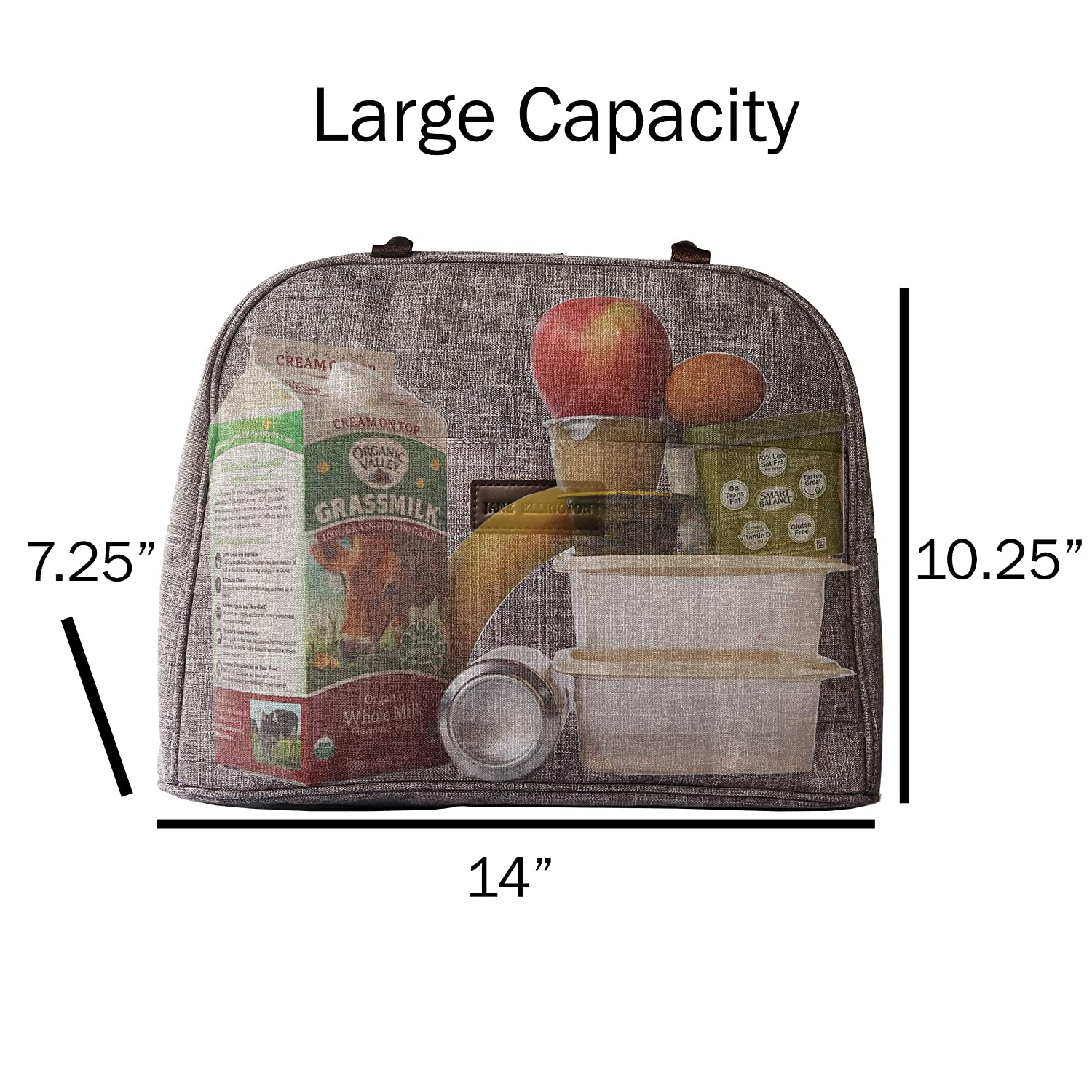 Oversize quality insulated versatile cooler bag Gray