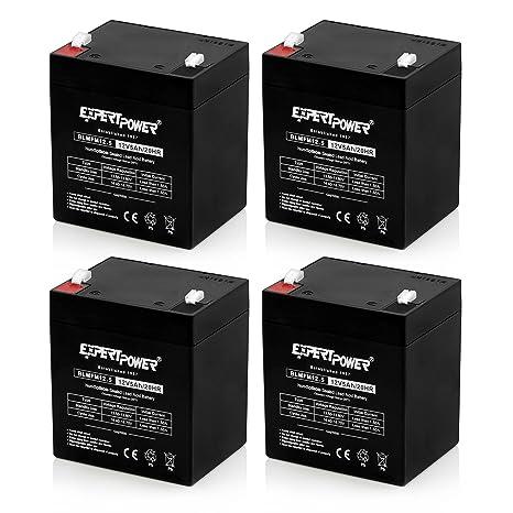 Amazon.com: Baterías de 12 volts para alarmas ...