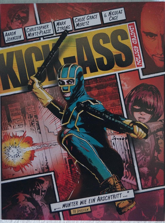 Kick-Ass - Limited Steelbook Edition (German Import): Amazon ...