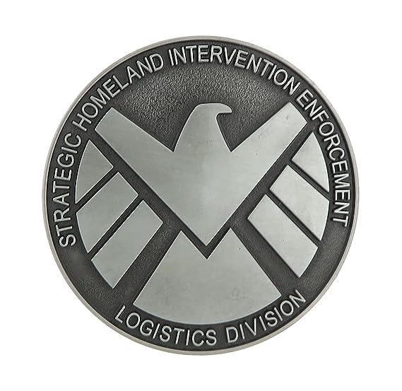 Amazon Marvel Agents Of Shield Avengers Metal Belt Buckle Clothing