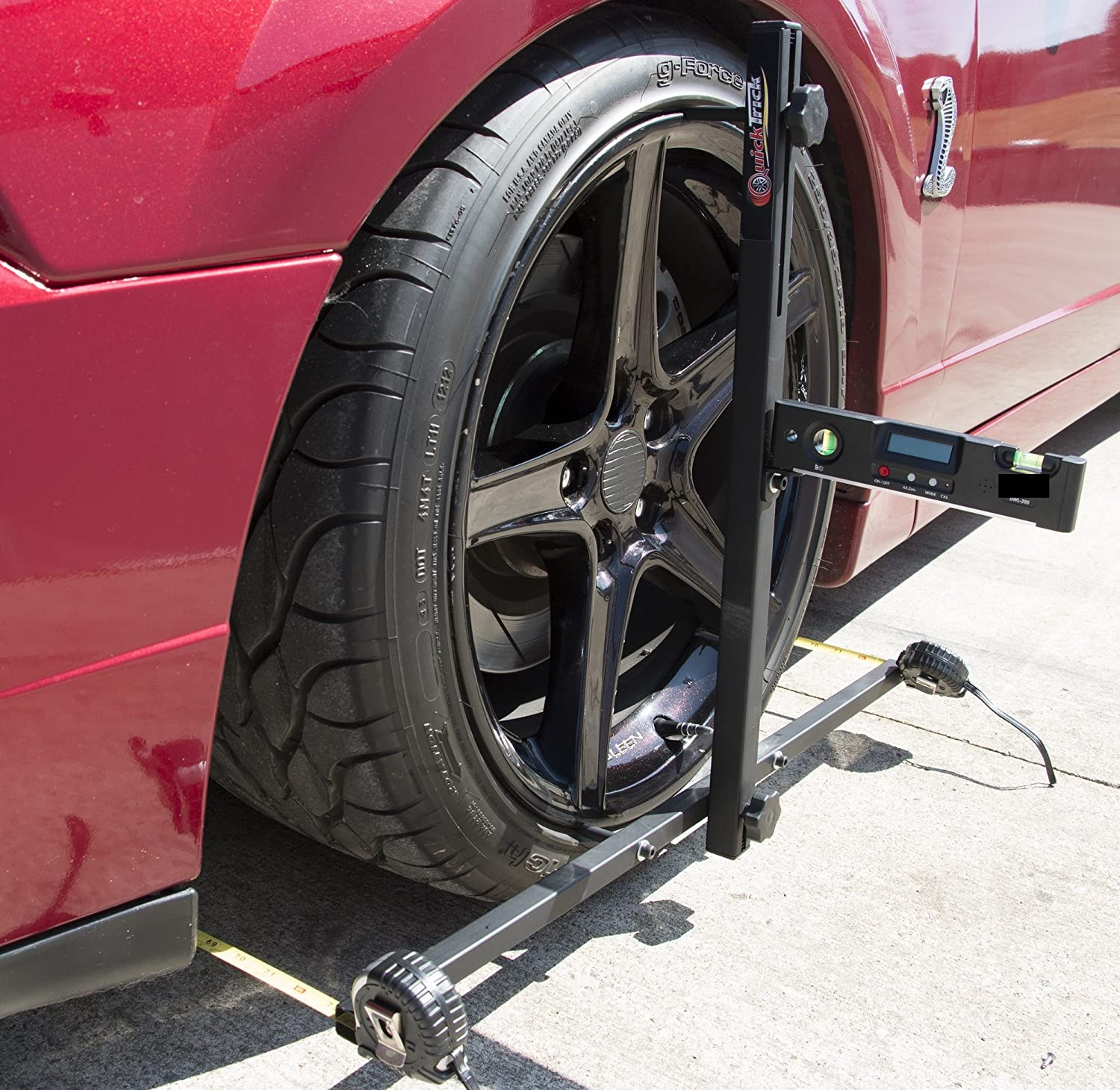 Wheel Alignment Tools >> Amazon Com Pro System Diy Wheel Alignment Set Up For Both Sides