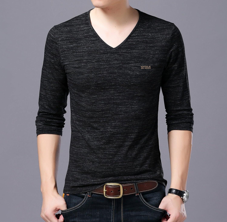 Jdfosvm Herbst männer - Pullover, Junge männer Mode, Freizeit, einfarbig v - Kragen Langarm - Pullover,schwarz,m