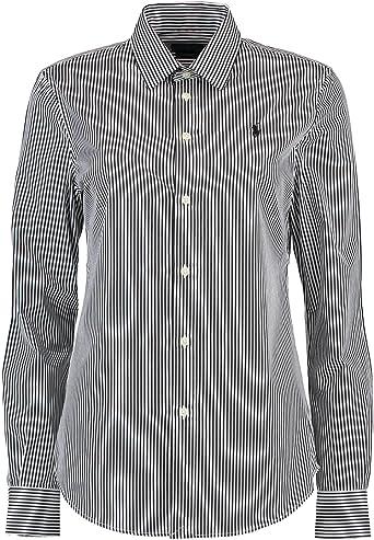 Polo Ralph Lauren Camisa Mujer Color 11 B Black/White 11 B ...