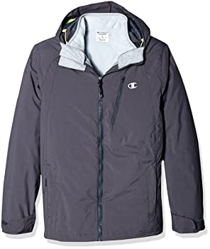 Champion Men's Technical Ripstop with Puffy 3-In-1 Winter Jacket